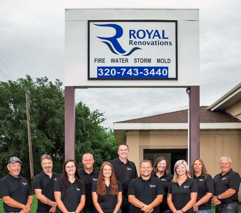 Crew at Royal Renovations