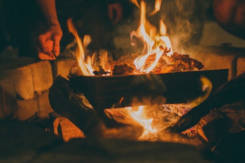 home bonfire Fire Pit Safety